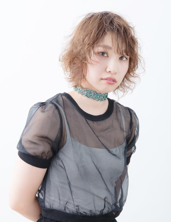 セミウェット☆大人可愛いカジュアルショート