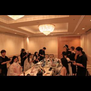 ミスユニバース ミス・ユニバース日本大会 阿部桃子 阿部リポーター 2017 ヘアメイク BLANCO ミスユニ 世界大会