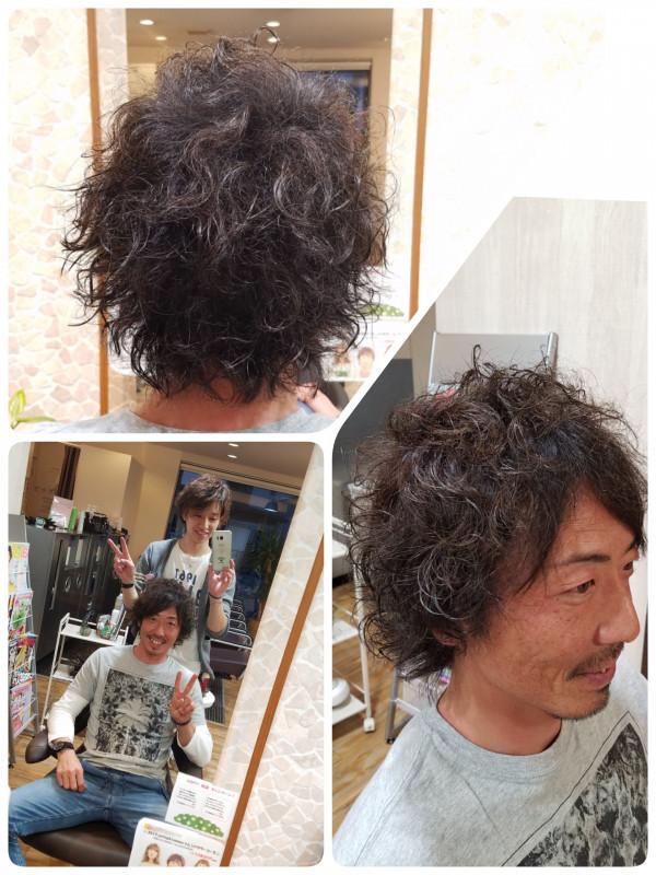 髪型 襟足長い メンズ