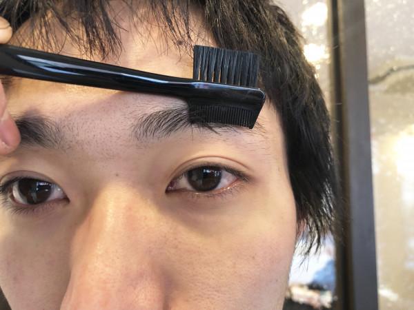 眉毛,メンズ,30代,サロン,男,細く,道具,形,カット,長さ
